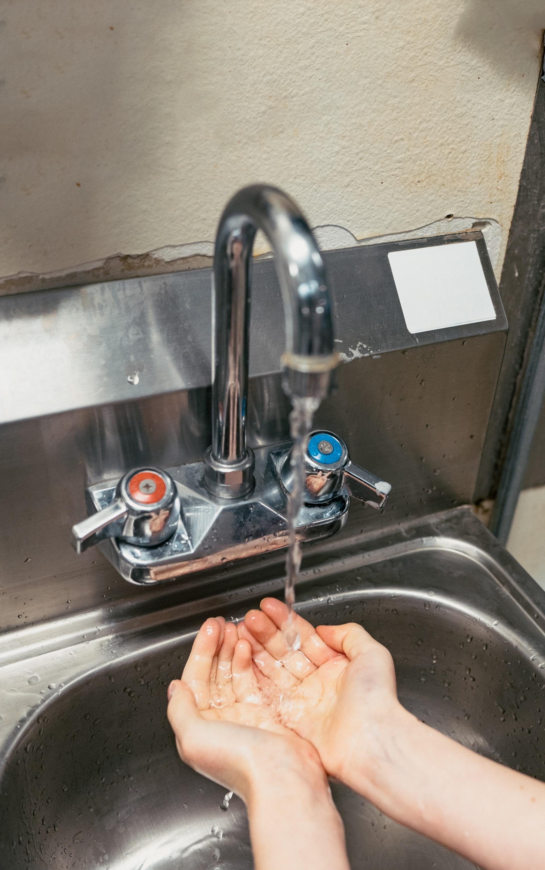 5 momentów higieny rąk